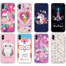 Colorful Rainbow Unicorn Phone Case For Cubot P40 P30 X19 R11 J3 Pro P20 Power Nova Note S J5 J7 R15 Pro R19 Max 2 2019 Cover(China)