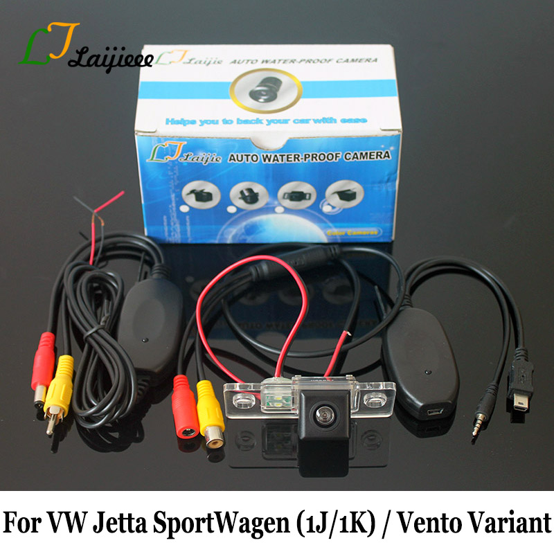 For Volkswagen <font><b>VW</b></font> Jetta <font><b>SportWagen</b></font> Vento Variant 2000~2015 Car Rear View Camera / Wireless HD CCD Night Vision Reverse Camera image