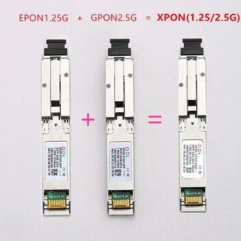 E/GXPON SFP ONU Stick With MAC SC Connector DDM pon module 1490/1330nm 1.25/2.5G XPON/EPON/GPON( 1.244Gbps/2.55G)802.3ah E/GXPON