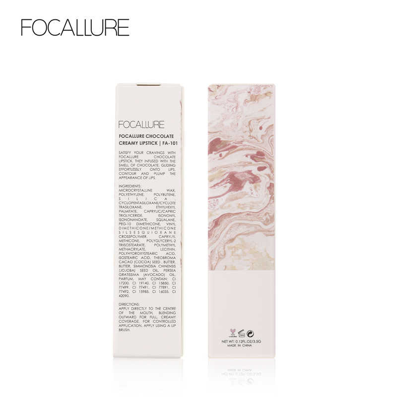 FOCALLURE soyeux chocolat rouge à lèvres hydratant haute qualité aimant couverture imperméable longue durée mat lèvres maquillage rouge à lèvres
