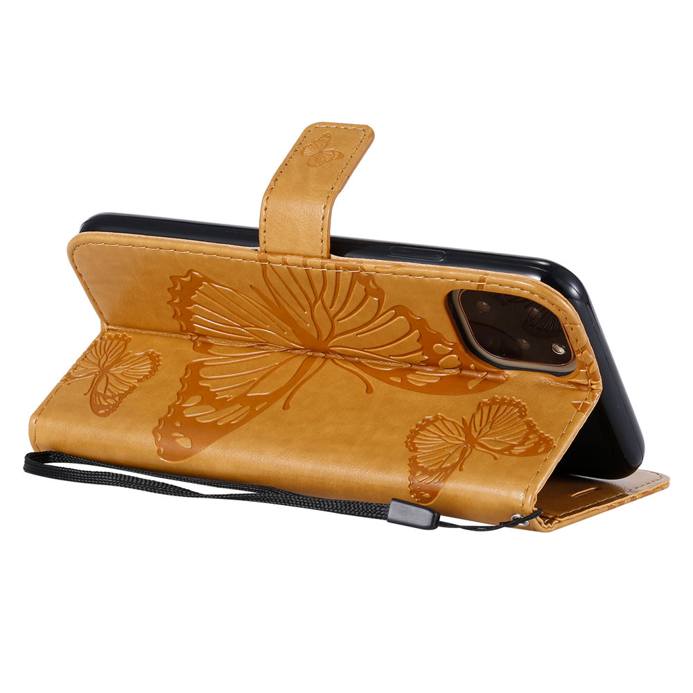 Butterfly Leather Wallet Case for iPhone 11/11 Pro/11 Pro Max 3