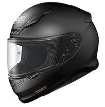 Casque de moto Z7 au visage complet, noir, muet, pour l'équitation, le Motocross, la course