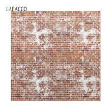 цена на Laeacco Photographic Backdrops Old Brick Wall Vinyl Portrait Photography Backgrounds For Photocall Vedio Photo Studio Decoration