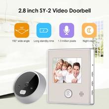 Doorbell-Camera Peephole Digital Night-Vision Smart Electronic LCD HD 150-Degree