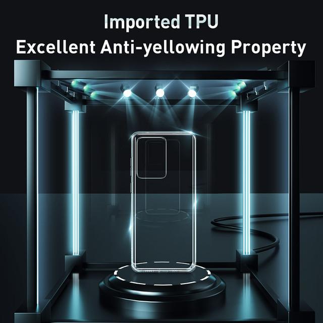 Baseus Samsung S20 Plus Ultra Transparent Soft Back Case Cover