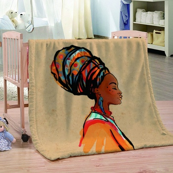 Soft Funny Print Super Flannel Throw Blanket For Home Decorative Couch Sofa Bedding Blankets For Kids Adults All Season