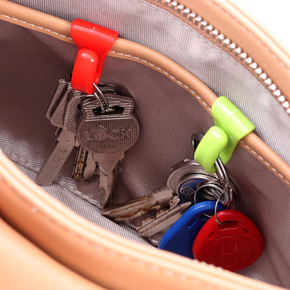 New 2pcs Fashion Travel Accessories Portable Multifunction Unisex Key Security Security Parts Suitcase Pendant Decoration Organi