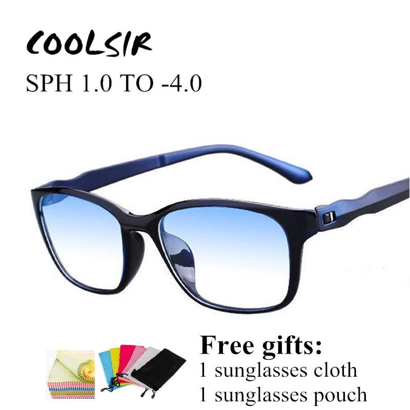 COOLSIR Reading Glasses Men Anti Blue Rays Presbyopia Eyeglasses Antifatigue Computer Eyewear With +1.5 +2.0 +2.5 +3.0 +3.5 +4.0