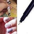 1 шт Nail Art Graffiti Pen водостойкая кисть для рисования  кисть для рисования  сделай сам  цветочный узор  мелкие детали  инструменты для маникюра