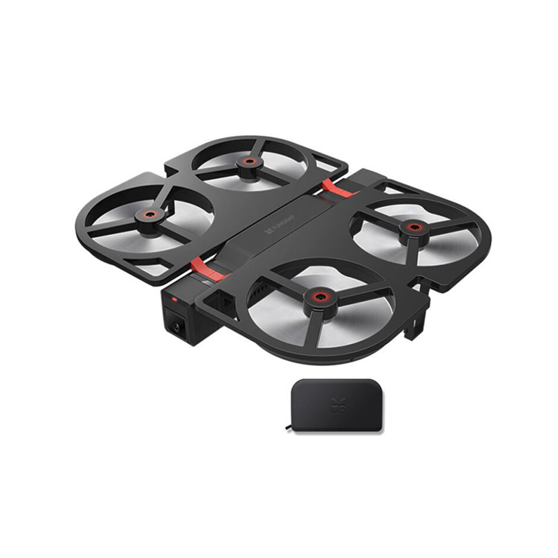 Funsnap iDol Mini Drone Camera Kit FPV RC 4K GPS Auto Quadrupter HD1080P Professional Camera Drone for Android IOS Drop Shipping image