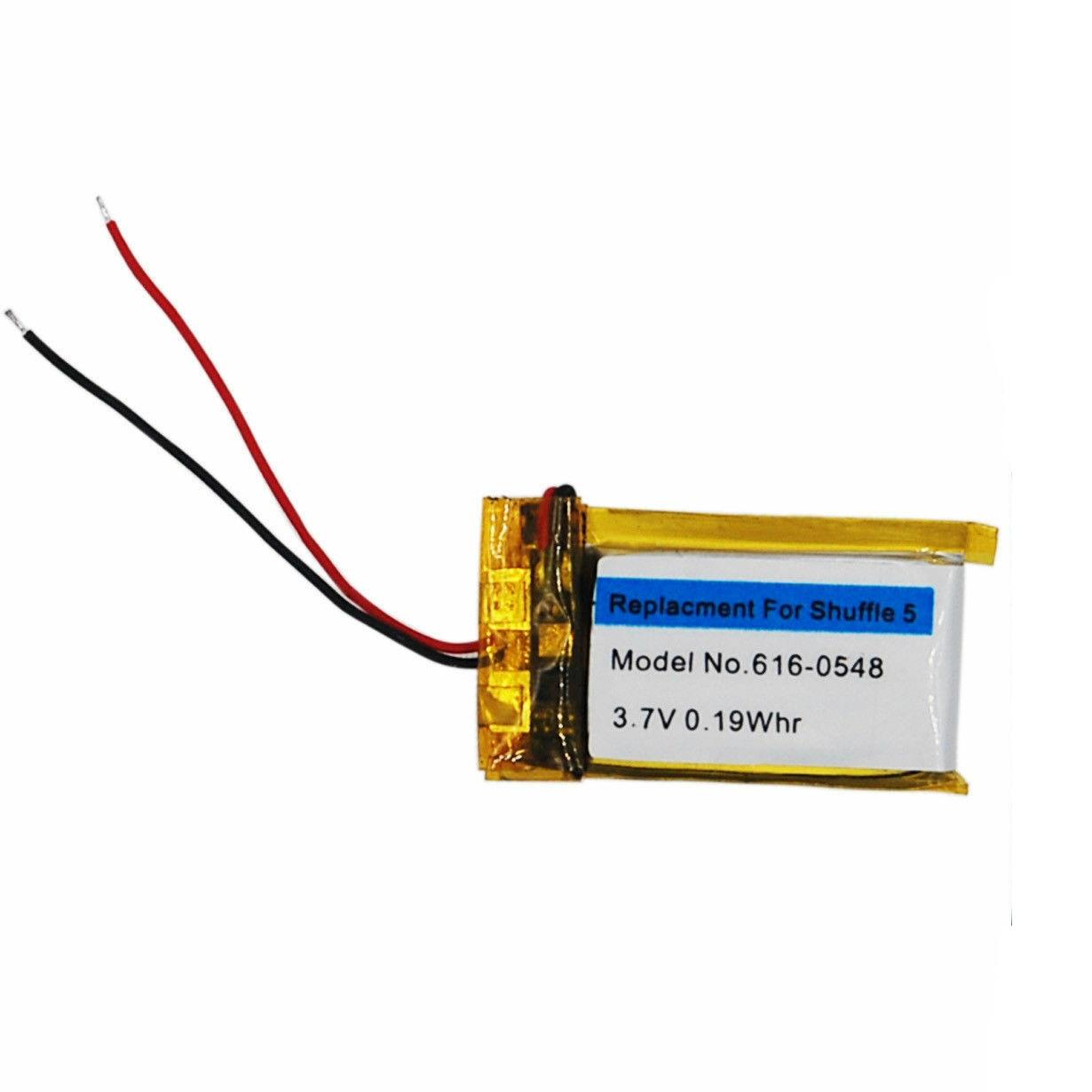 Replacement Internal Li-polymer Battery for iPod Shuffle 5 Generation(China)
