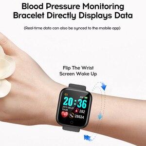 Image 5 - ساعة ذكية الرجال 1.3 اللون شاشة تعمل باللمس عداد الخطى جهاز تعقب للياقة البدنية ساعة Ip67 مقاوم للماء الرياضة Smartwatch النساء ل أندرويد IOS