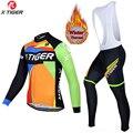 X-TIGER  набор из Джерси для велоспорта  мужской  для езды на велосипеде  MTB  зимний  с длинным рукавом  для велоспорта  дышащий  для велоспорта  Дж...
