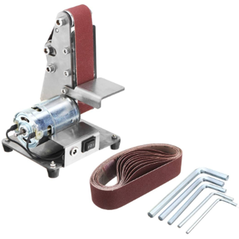 Promotion! 350W Mini Electric Belt Machine Sander Sanding Grinding Polishing Machine Abrasive Belts Grinder DIY Polishing Cutter