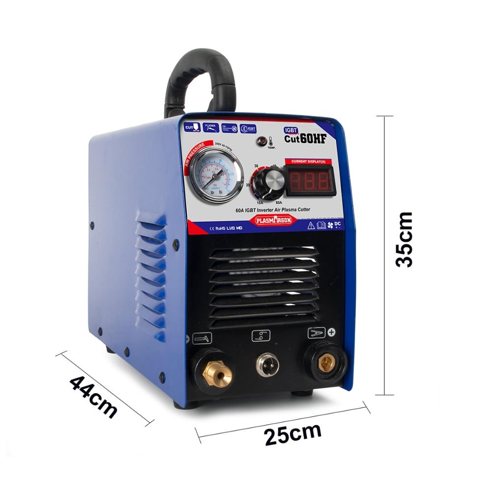 Cortador de Plasma CUT60 10-60A DC IGBT HF, inversor de 110-220v