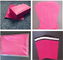 50pcs 11Sizes Plastic Envelope Self Seal Adhesive Poly Mailer Waterproof Courier Bag Postal Shipping Mailing Bags 50pcs poly mailer envelopes shipping bags in rose design with self adhesive postal bags