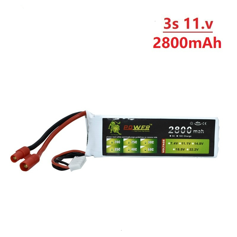Upgraded 2800mah 11.1v Battery For BAYANGTOYS X16 X21 X22 803496 11.1v 2200mah 3s Battery For X16 X21 RC Quadcopter Spare Parts
