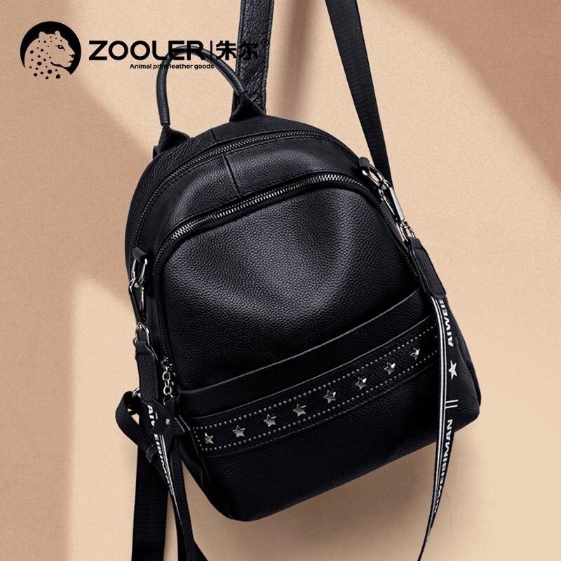 YUPINXUAN большой емкости холщовые кожаные рюкзаки для подростков водонепроницаемые школьные рюкзаки большой износостойкий рюкзак из парусин... - 3