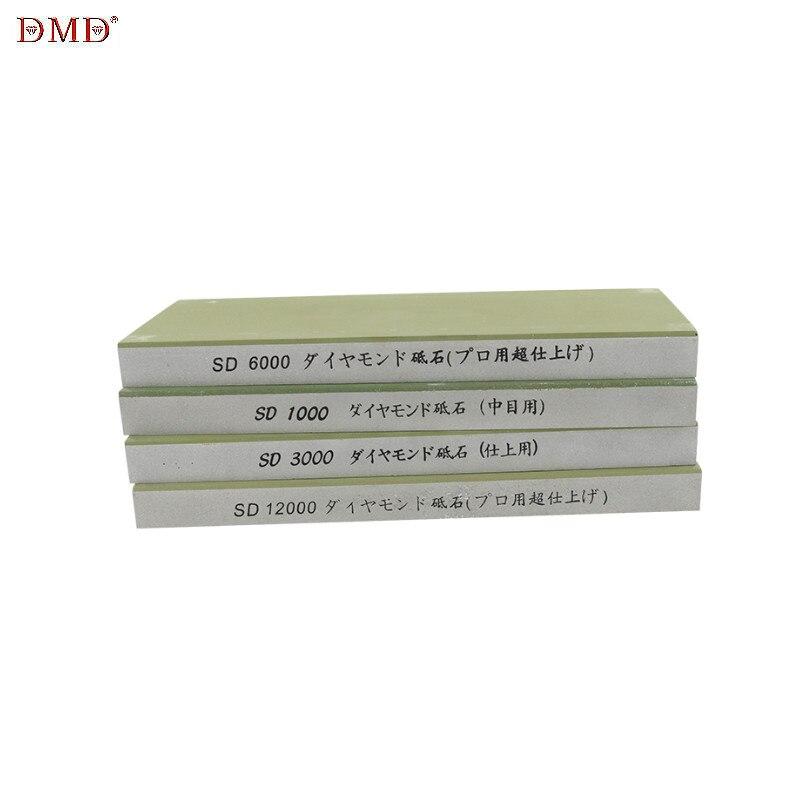 Pedra de afiar 1000 3000 6000 12000 grão profissional diamante resina mó afiador faca moagem pedra amolar