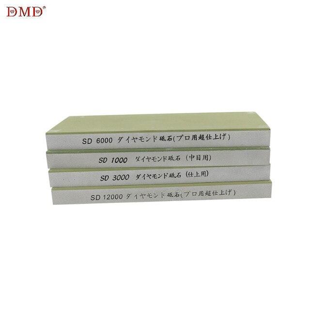 Piedra de afilar japonesa, 1000, 3000, 6000, 12000, grano profesional, resina de diamante, piedra de afilar, afilador de cuchillos, piedra de afilar h2