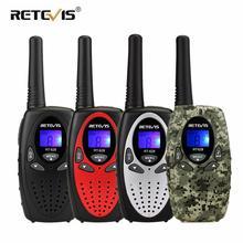 RETEVIS RT628 جهاز مرسل ومستقبل صغير 2 قطعة 0.5 واط المحمولة راديو الأطفال للتخييم التنزه النشاط عيد ميلاد هدية الكريسماس الحاضر