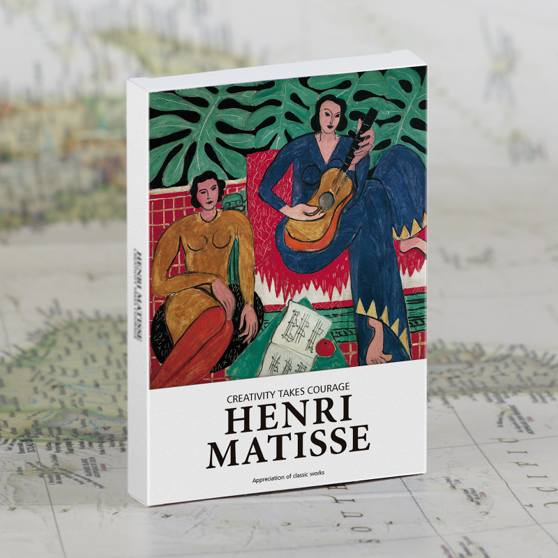 30 Pcs/Set Henri Matisse Art Painting Postcard DIY Greeting Cards Message Card Journal Decoration