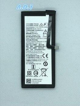 Original HE333 3260mAh Battery For Nokia 8 Sirocco HE 333  Batteries Bateria wierss золото для nokia 8 sirocco