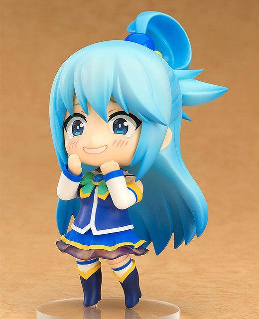 KonoSuba God's Blessing on this Wonderful world Nendoroid 630 725 PVC Action Figures toys Figuras Anime For Xmas gifts