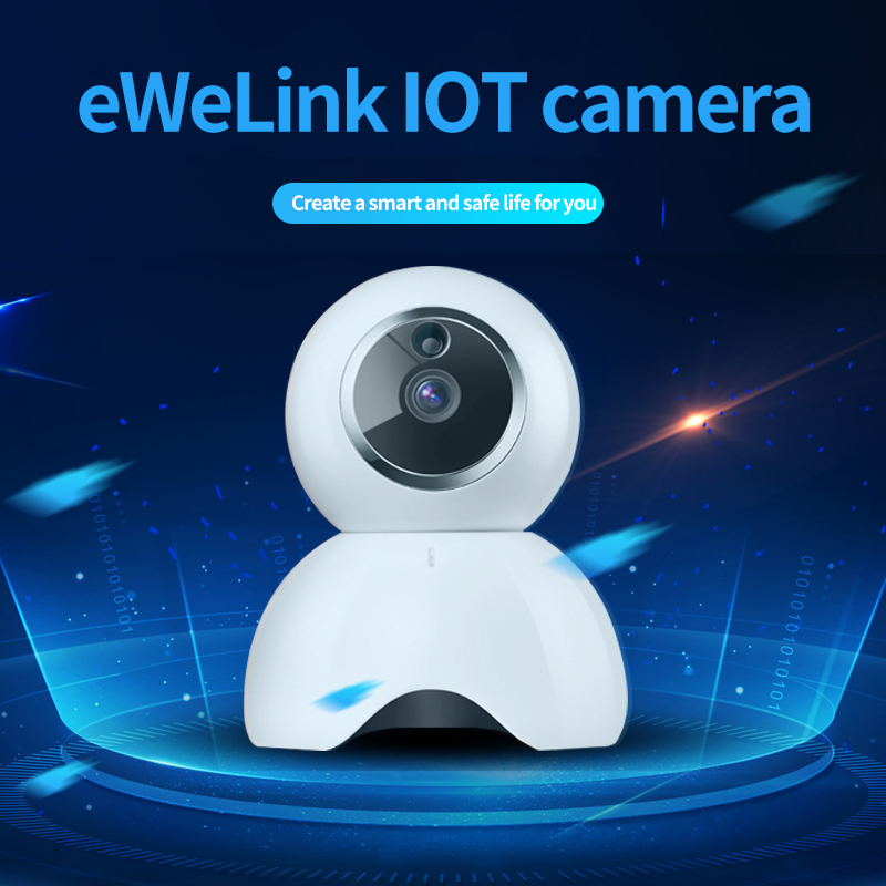 EWeLink Home APP Security IP Camera Smart IOT HD Camera Reomotely Viewing 720P One Million Pixel Camera By Mobile Phone Two Way