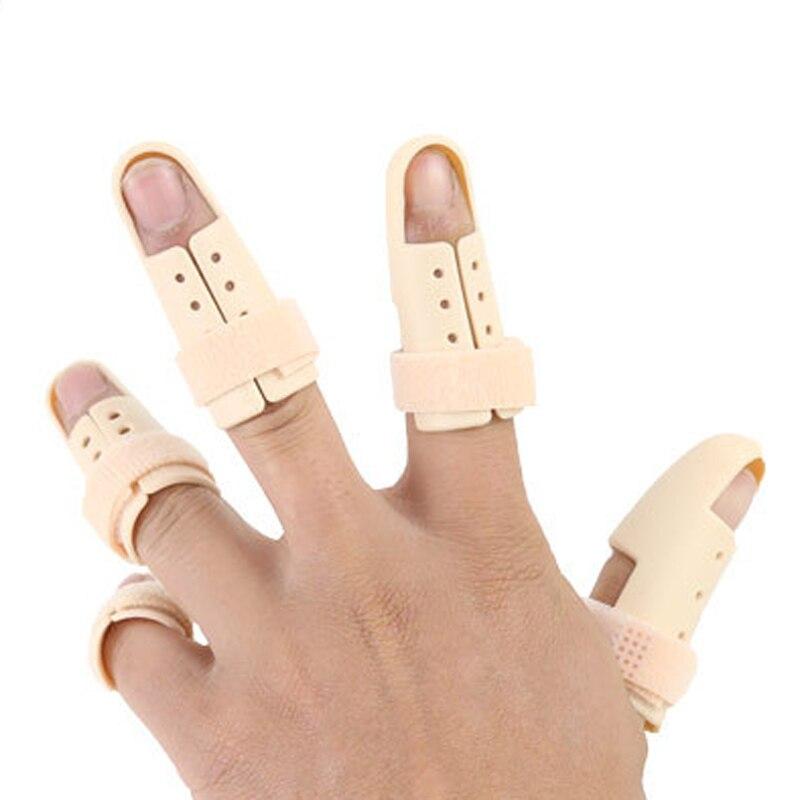 1/2/5Pcs Finger Splint Brace Adjustable Finger Support Protector Arthritis Corrector Joint Finger Straightener Brace Correction