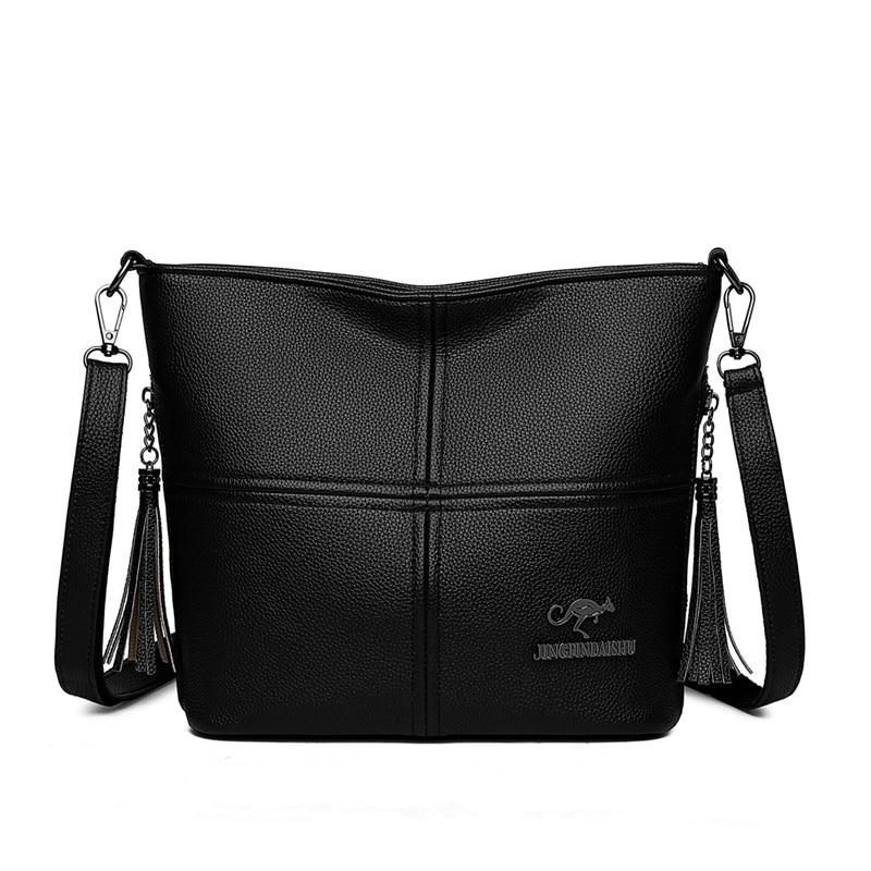 Модные многофункциональные сумки через плечо из искусственной кожи для женщин 2021, дизайнерские роскошные сумки, Повседневная сумка через плечо, Основная сумка