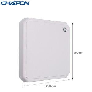 Image 4 - CHAFON lecteur rfid uhf, 10M, antenne circulaire 9dbi intégrée, prise en charge de la mise à niveau du micrologiciel pour stationnement de voiture, longue portée RS232 WG26, USB