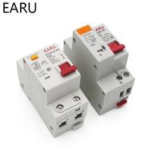 DZ30L DZ40LE EPNL DPNL 230V 1P N interruttore di corrente residuo con protezione da sovracorrente e cortocircuito RCBO MCB 6 63A