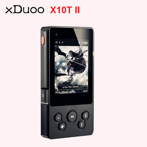 Mp3-Player Bluetooth Turntable Music XDUOO Digital DSD256 X10t-Ii PCM Professional 384hkz/32bit-Support