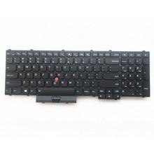Nuovo Orig. US English Tastiera Retroilluminata per Lenovo Thinkpad P50 P70 P51 P71 Retroilluminazione Teclado 00PA288 00PA370 01HW282 SN20K85114