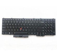 新しいorig米国英語バックライトキーボードレノボthinkpad P50 P70 P51 P71 バックライトteclado 00PA288 00PA370 01HW282 SN20K85114