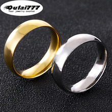 oulai 777 stainless steel wholesale boho Couple ring womens silver women gold mens rings men woman Give her a gift marry