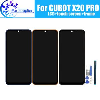 Wyświetlacz LCD CUBOT X20 PRO + Digitizer z ekranem dotykowym + montaż ramy 100 oryginalny nowy LCD + dotykowy Digitizer do CUBOT X20 PRO + narzędzia tanie i dobre opinie iParto CN (pochodzenie) Pojemnościowy ekran 3 CUBOT X20 PRO 6 3 inch for CUBOT X20 PRO 2340x1080 HD 6 3 inch Original for CUBOT X20 PRO LCD Dispaly Touch Screen