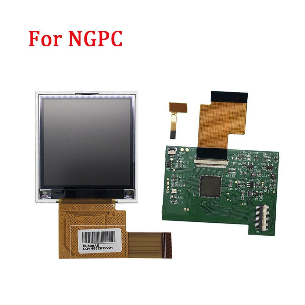 Remplacement pour NGPC rétro-éclairage LCD écran haute lumière Kits de Modification pour SNK NGPC Console LCD écran lumière manette accessoires