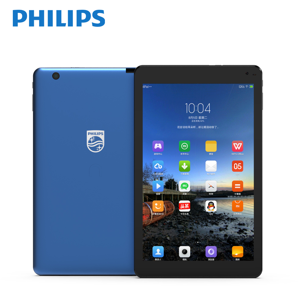 Philips Original Android Tablets 7 Inches WIFI With Dual Cameras Bluetooth 4.2v