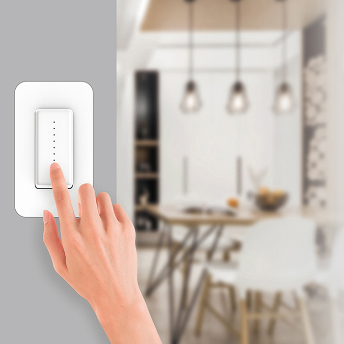 Home Smart Wifi LED Light Dimmer Switch For Fan Controller Lamp Supports Google Assistant / Alexa / IFTTT APP Remote Control