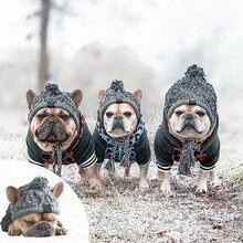 Superpet зимние теплые шапки для собак ветрозащитная вязаная