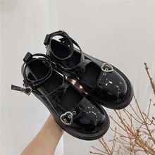 Chunky Heel Platform Mary Jane Shoes Women Round Toe Cross-tied High Heels Women Pumps platform shoes loli sweet lolita shoes