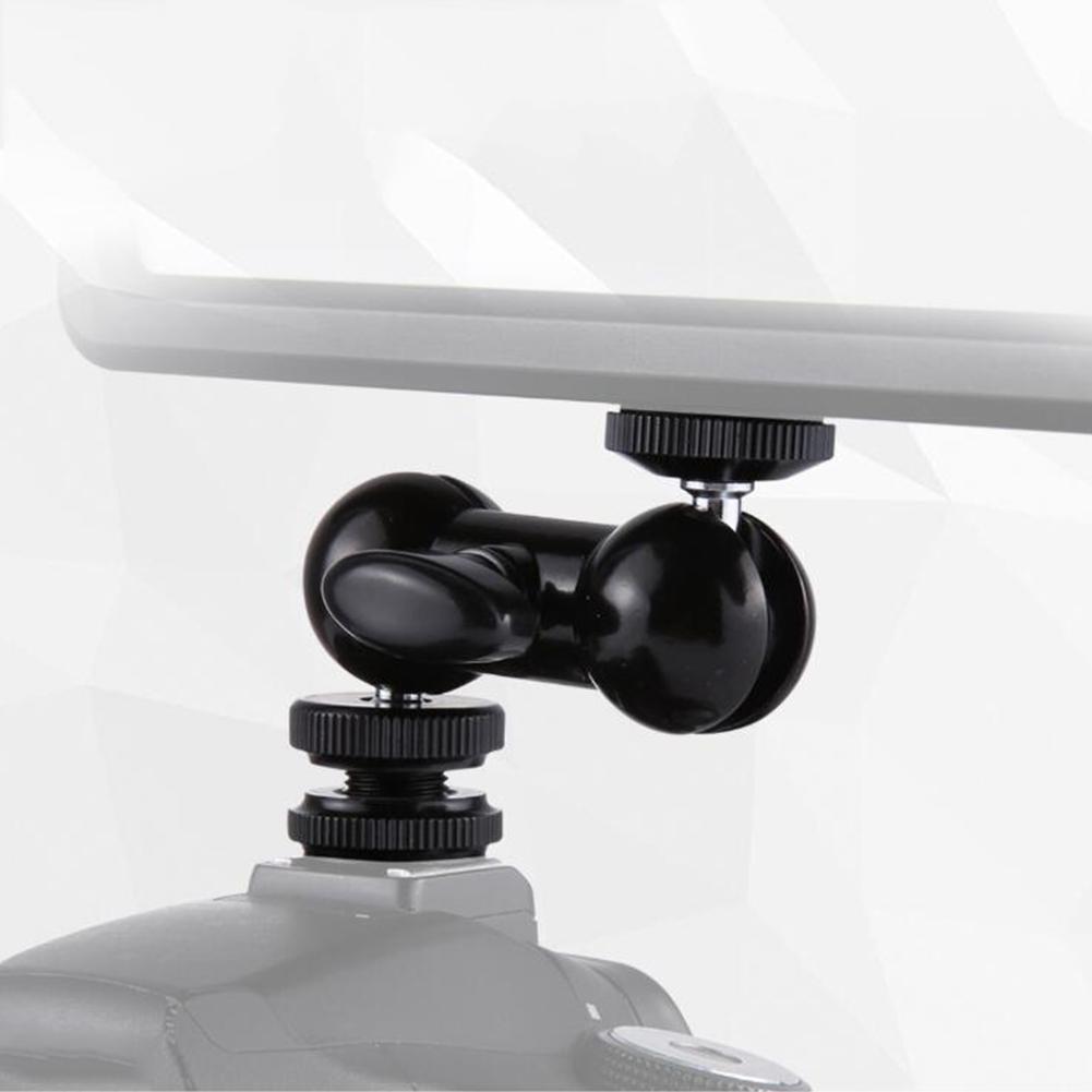 Крутая шариковая головка V1, многофункциональная двойная шаровая Головка с креплением для обуви и винтом 1/4 дюйма для мониторов, светодиодный светильник|Чехлы для экшн-камер| | АлиЭкспресс