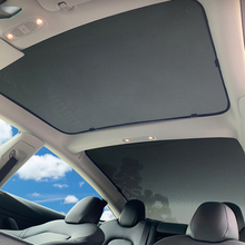 Sunroof Sunshade Foldable Shade Heat Isolate Roof Cloth UV Resistant For Tesla Model 3 X S Modified Accessories