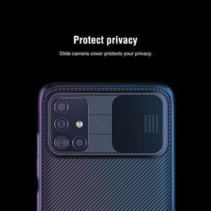 Image 2 - for Samsung Galaxy A51 A71 Case NILLKIN CamShield Case Slide Camera Cover Protect Privacy Classic Back Cover For Samsung A51 A71