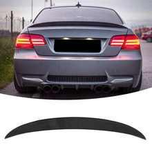 Alto pontapé traseiro tronco tampa spoiler asa para m desempenho estilo preto brilhante apto para bmw série 3 e92 coupe 2007-2013 estilo do carro