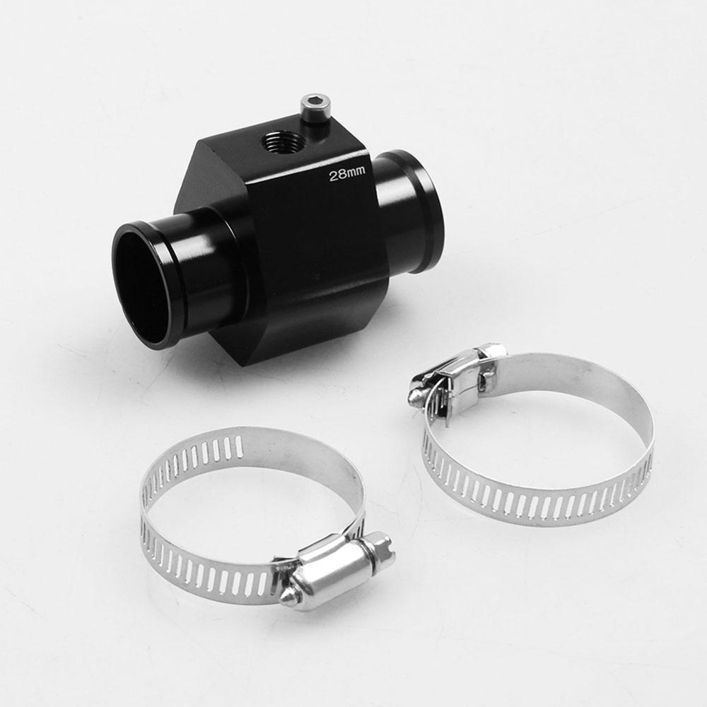 32MM LCD Car Water Temperature Temp Meter Sensor Gauge Radiator Hose Joint Pipe