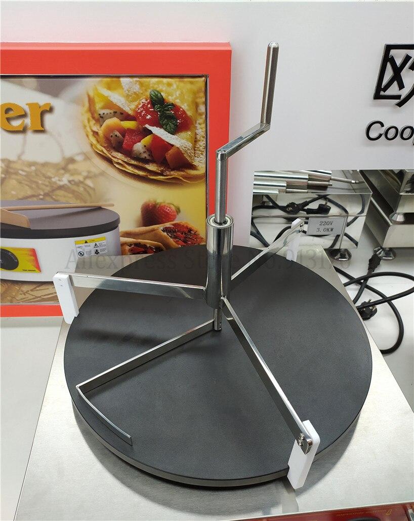 Aço inoxidável panqueca massa espalhador chapattis battercake