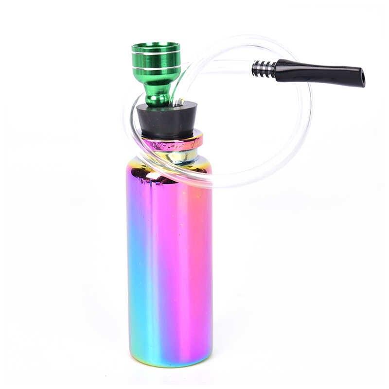 Rainbow mini szklane fajka wodna szisza fajki na tytoń i zioła wymienne